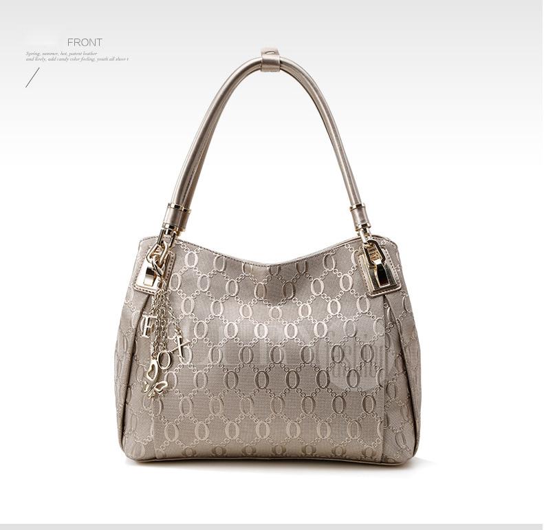Túi xách nữ vân chữ nổi