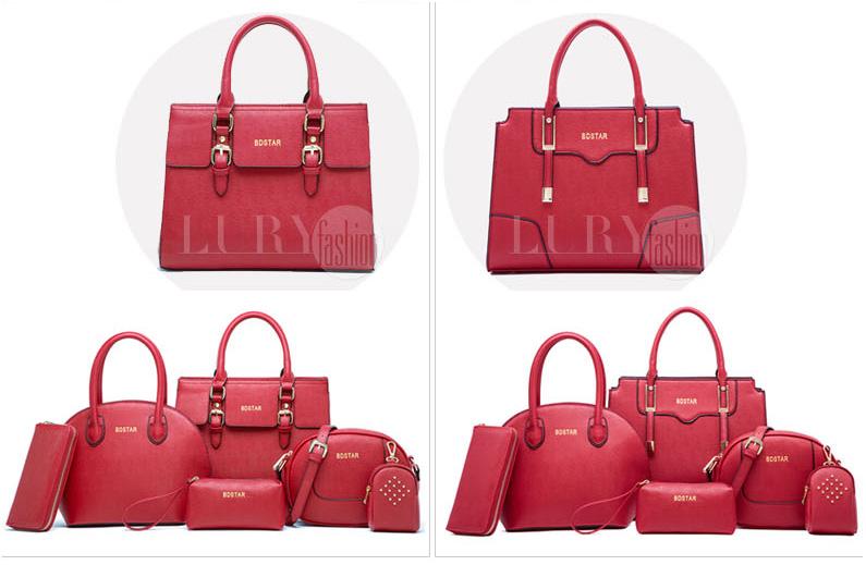 Set 6 túi xách nữ thời trang TU1518