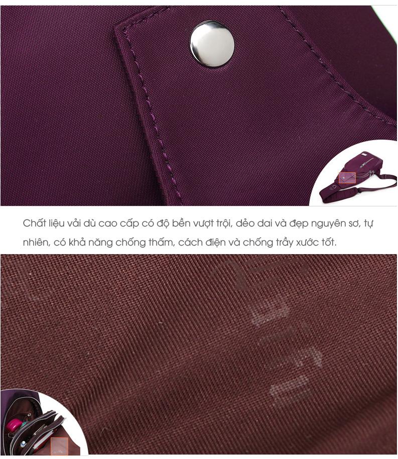 Túi đeo vai nhỏ vải dù cao cấp