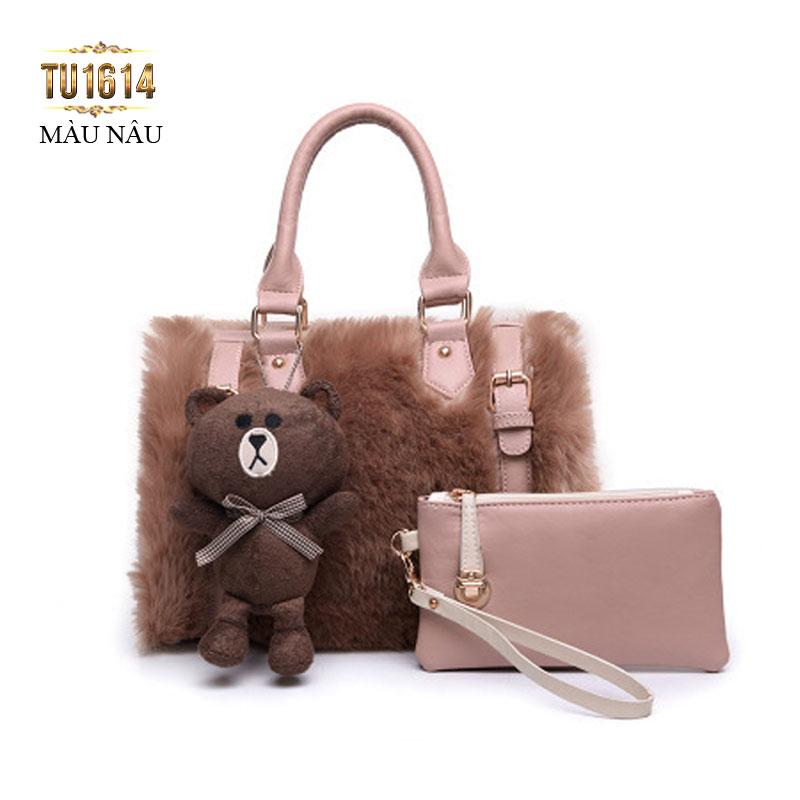 Bộ túi đôi thời trang cực kỳ xinh xắn được nhiều nàng yêu thích TU1614