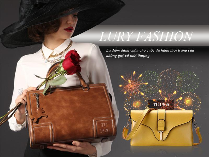 Lury là điểm dừng chân cho cuộc du hành thời trang của những quý cô thời thượng