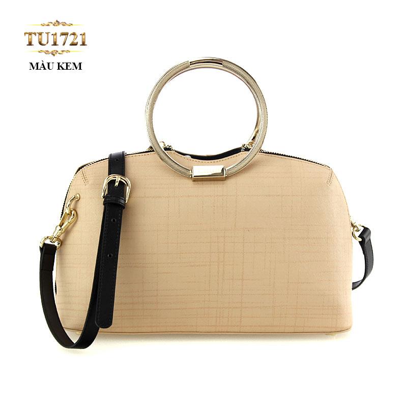 Túi xách đeo cao cấp quai kim loại tròn thời trang TU1721