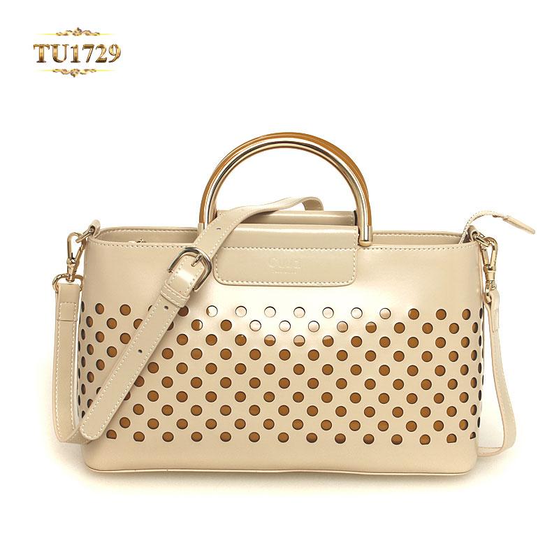 Túi xách đeo Cuud chấm tròn nhập khẩu cao cấp TU1729