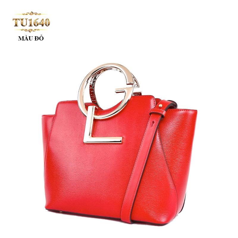 Túi xách đeo GL dáng hộp chữ nhật cao cấp TU1640 (Màu đỏ)