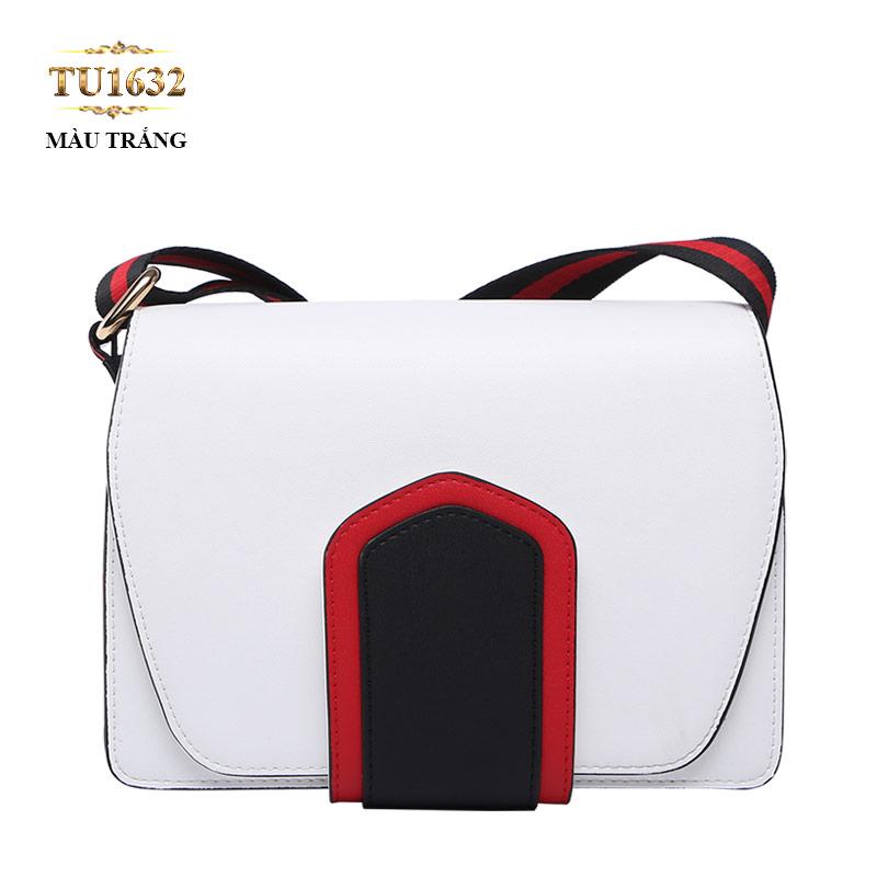 Túi xách đeo cao cấp màu xanh trơn thời trang TU1632