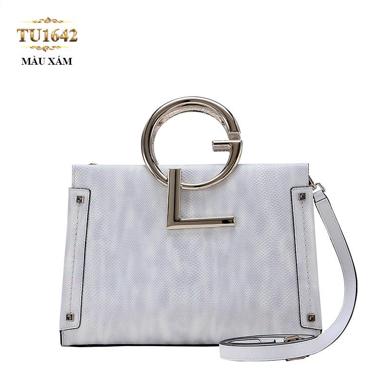 Túi xách GL cao cấp khóa hông thời trang TU1642 (Màu xám)