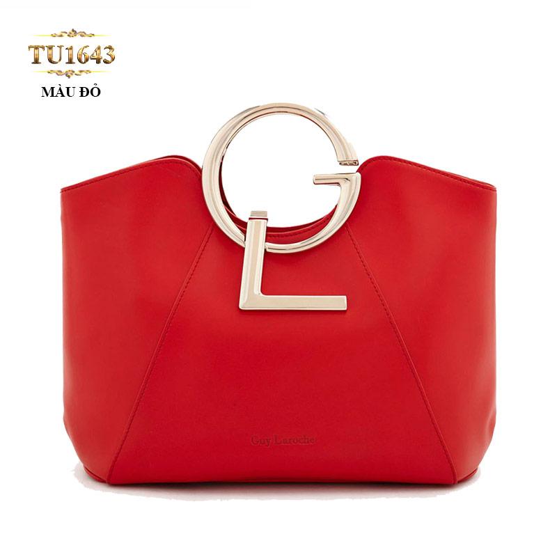 Túi xách GL cao cấp màu đỏ dáng vuông thời thượng TU1643