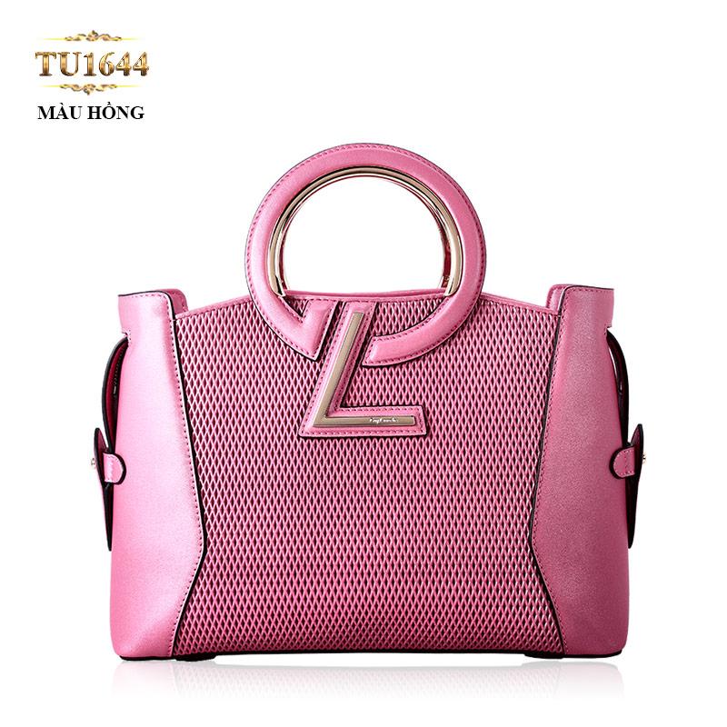 Túi xách GL cao cấp màu hồng thời trang TU1644
