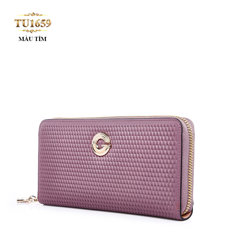 Thời trang ví cầm tay gam màu tím luôn khiến bất kì quý cô nào cũng mê mẩn TU1659; Giá: 4.872.000 VNĐ